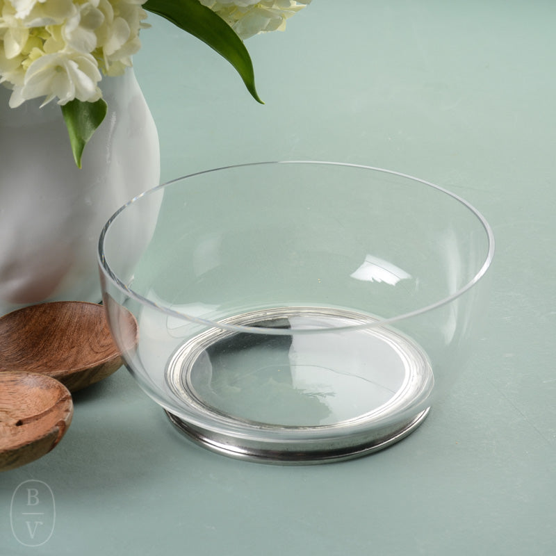 ROUND CRYSTAL BOWL