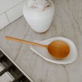 HAND CARVED TEAK WOOD SPOON