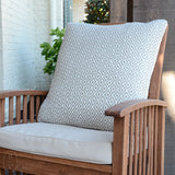 CRYSTAL INDOOR/OUTDOOR DECORATIVE PILLOW