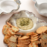 WAVY CHIP AND DIP DISH