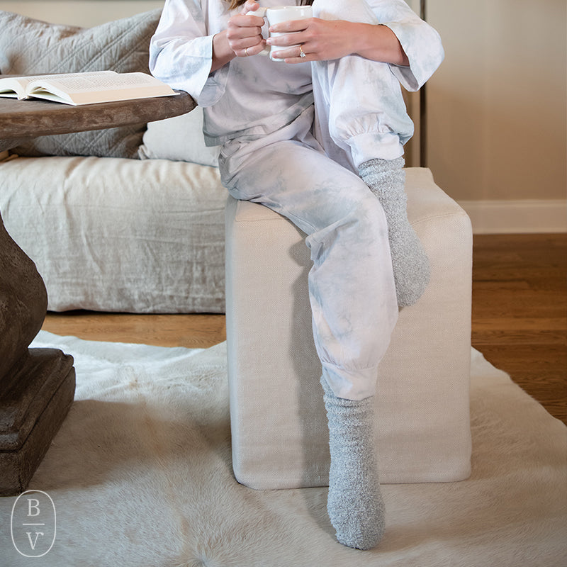 COZYCHIC WOMENS HEATHERED SOCKS