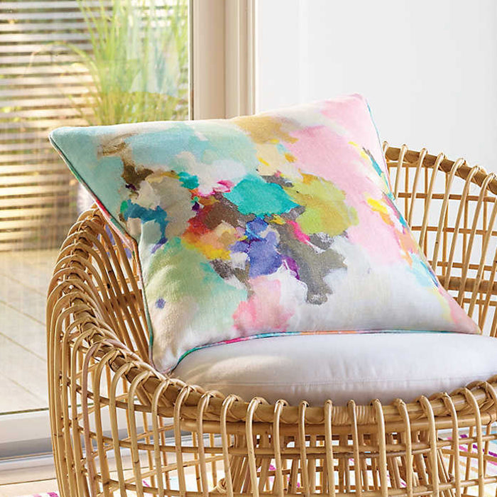 CRYSTAL COAST LINEN DECORATIVE PILLOW