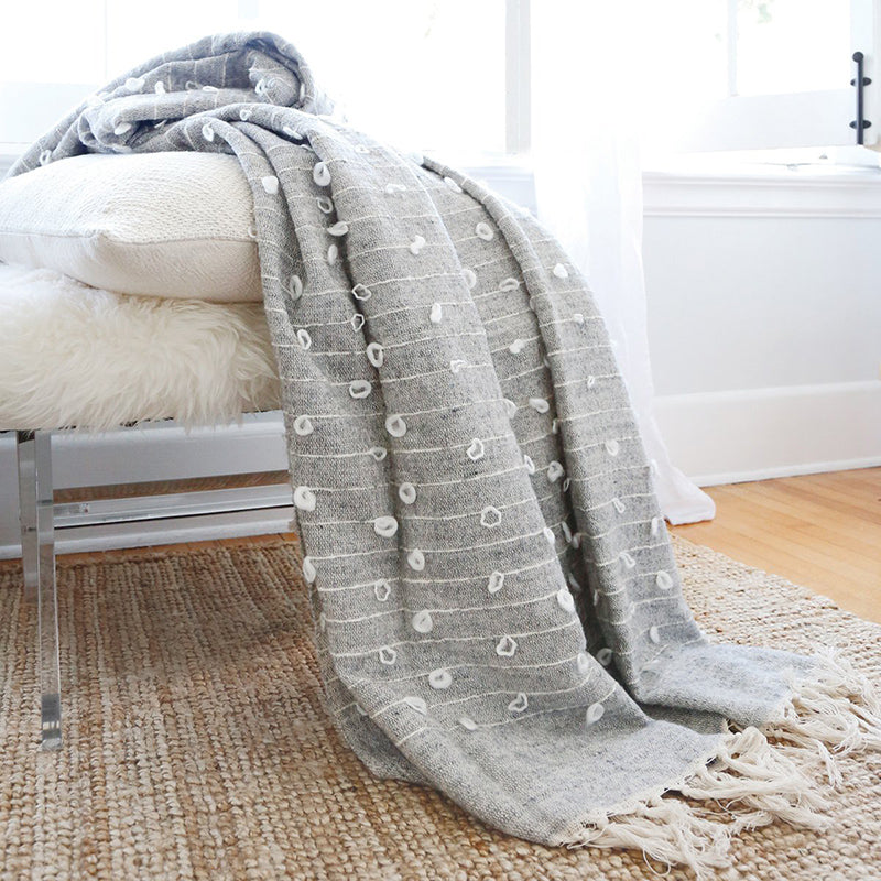 ZAIDEE OVERSIZED THROW BLANKET