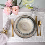 RUFFLED LINEN PLACEMAT
