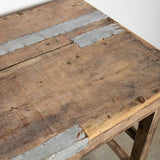 RECLAIMED WOOD FOLDING TABLE