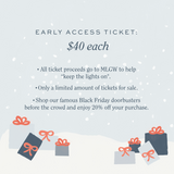 EARLY ACCESS BLACK FRIDAY TICKET 2020