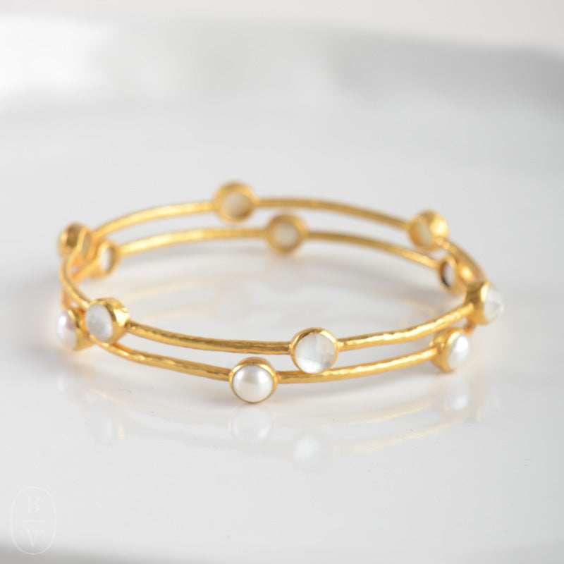 GOLD MILANO BANGLE BRACELET