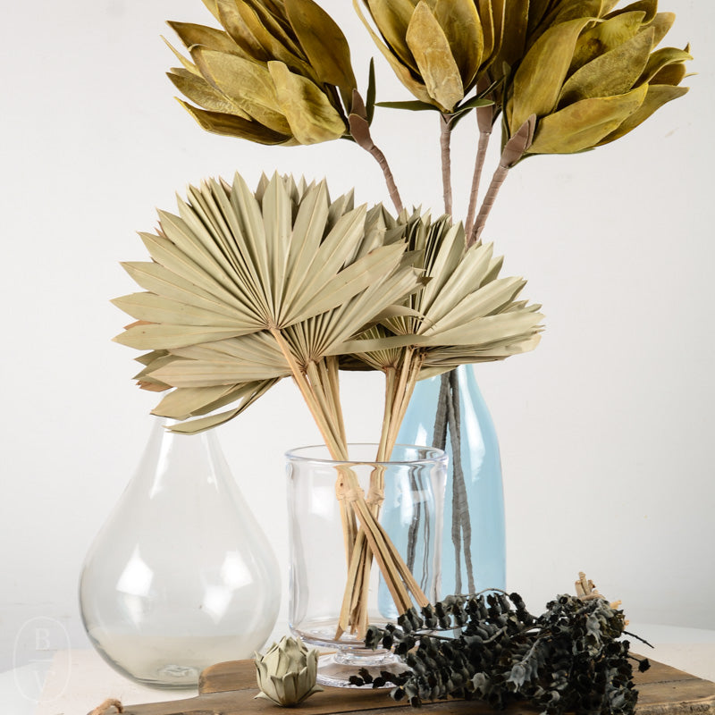 DRIED NATURAL SUN CUT PALM BUNCH