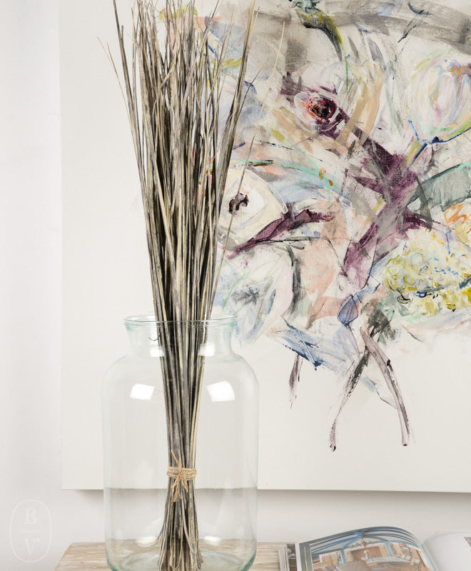 ARTISAN GLASS FLOWER VASE