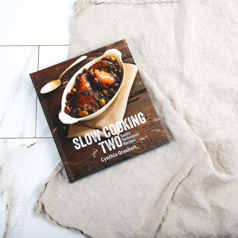 SLOW COOKING FOR TWO BOOK