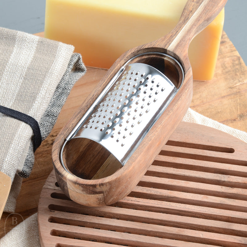 ACAI WOOD STAINLESS STEEL GRATER