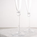 HARTLAND CHAMPAGNE FLUTES SET OF TWO