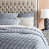 PICK STITCH MATELASSE COVERLET