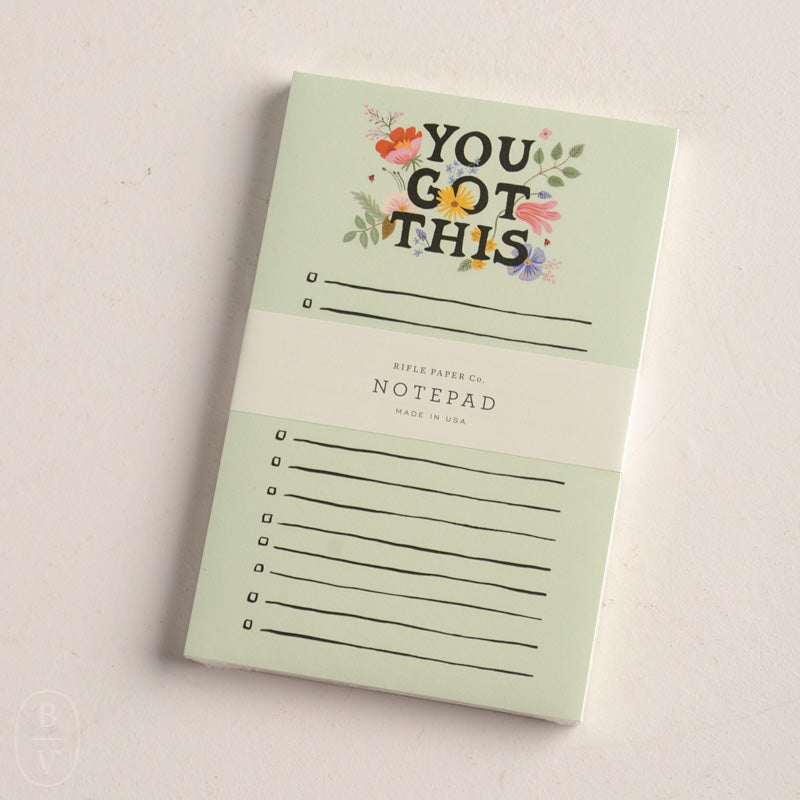 YOU GOT THIS NOTEPAD