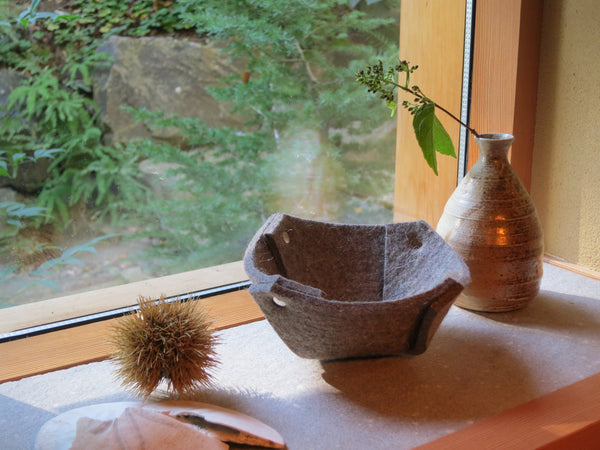 Small Wool Felt Bowl