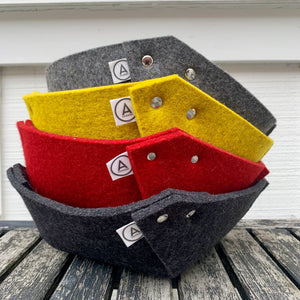 Large Wool Felt Bowl