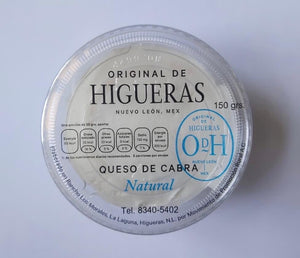 QUESO DE CABRA UNTABLE HIGUERAS NATURAL