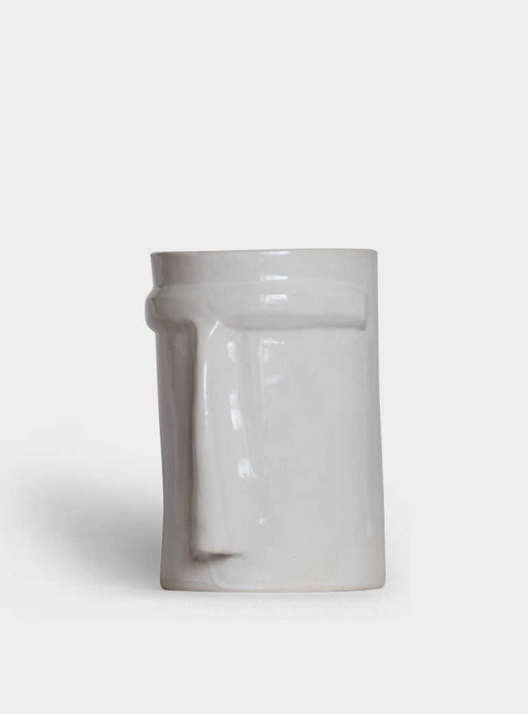 White Nose Medium Vase