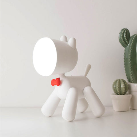 Cute puppy night light