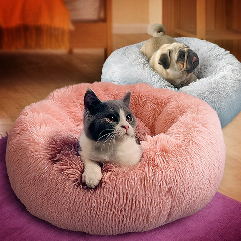 Round doghouse & cathouse