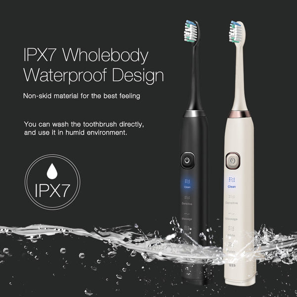 Wireless rechargeable electric toothbrush