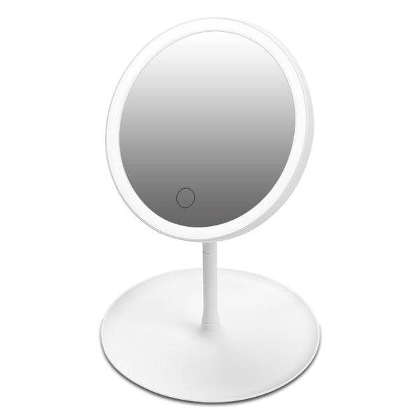 Dimmable touch LED cosmetic mirror