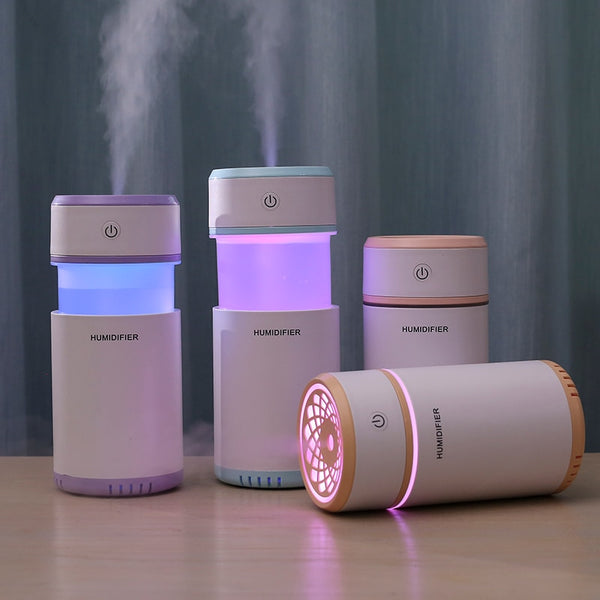 Creative air humidifier with LED lights