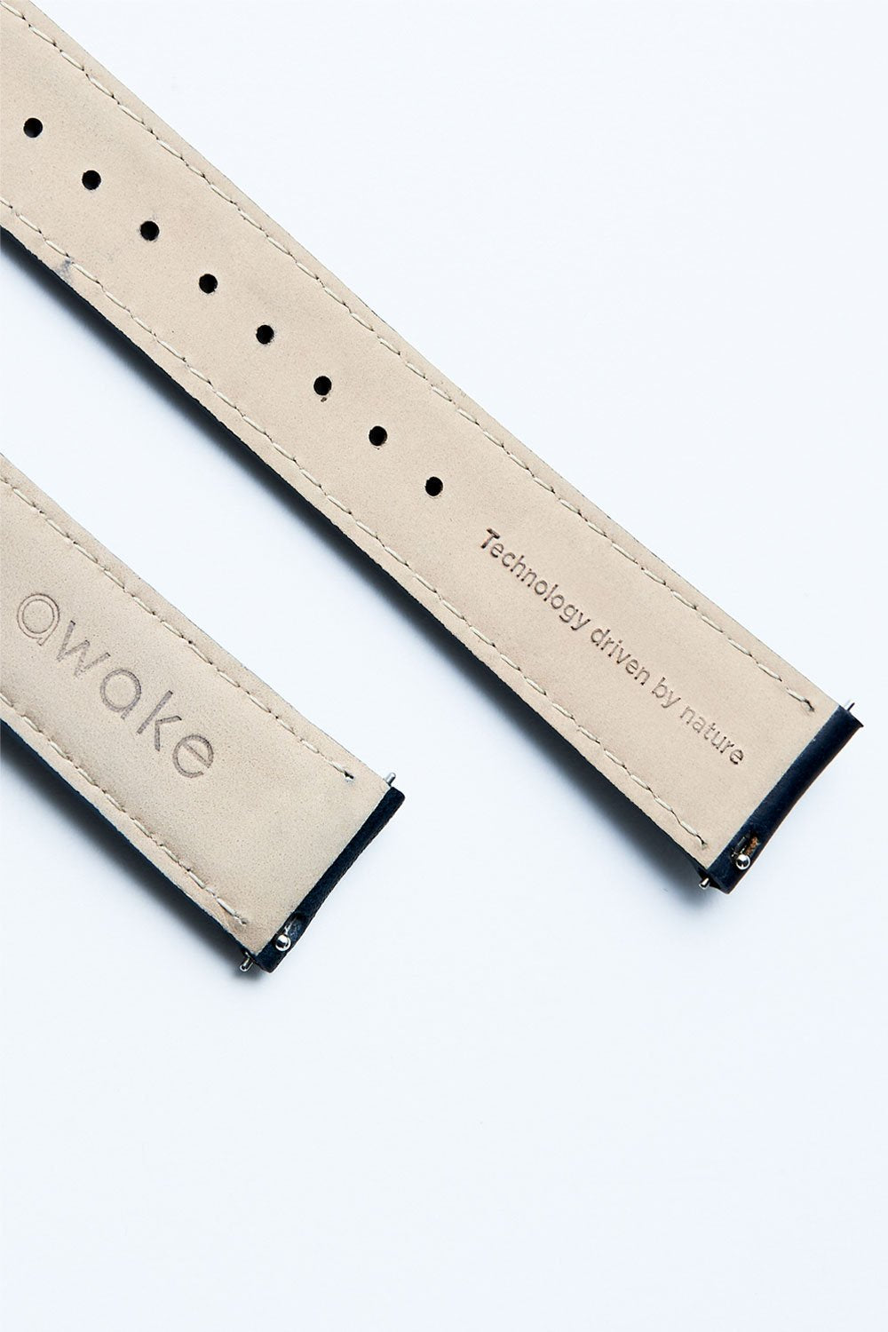 LEATHER STRAP BLUE