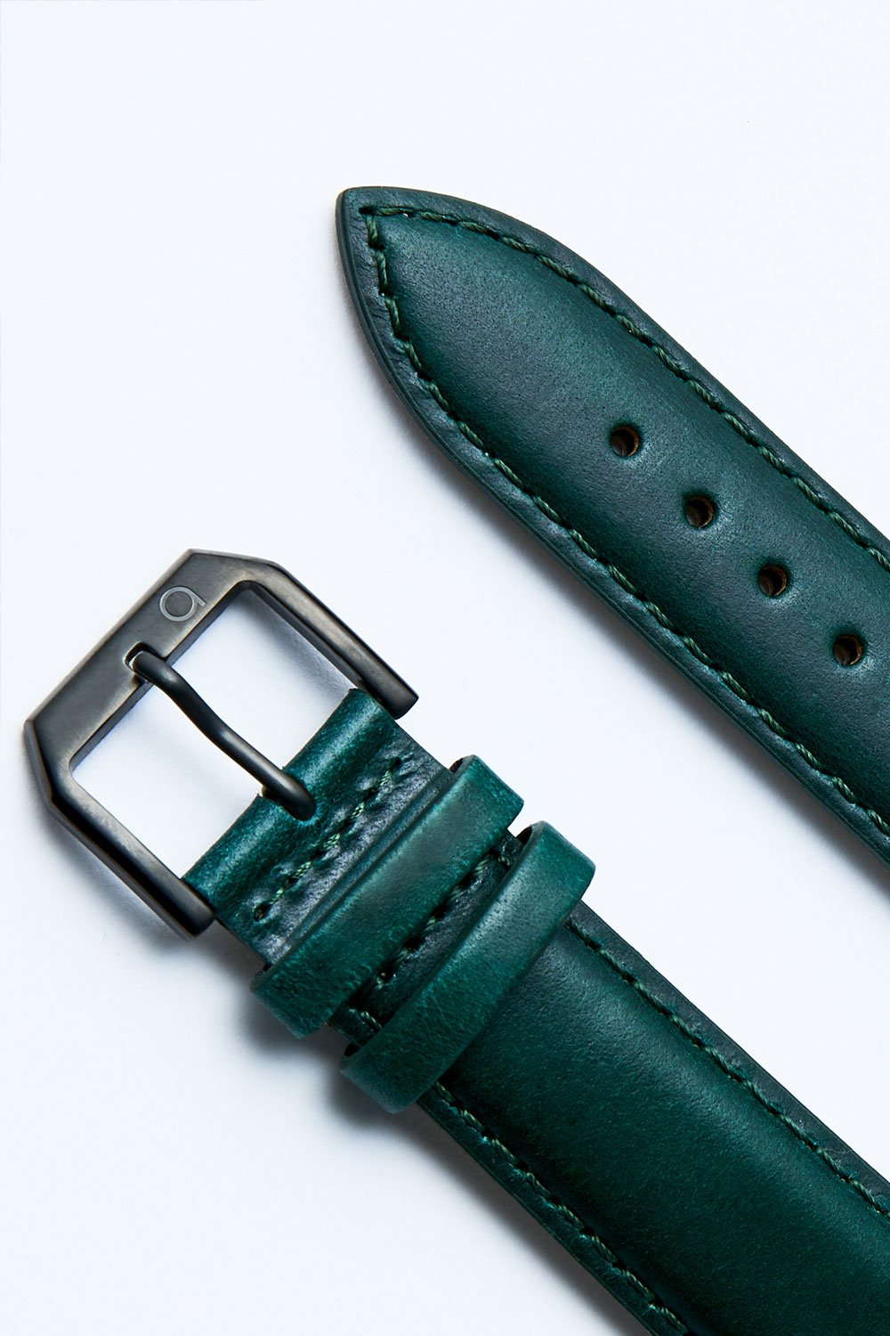 LEATHER STRAP GREEN