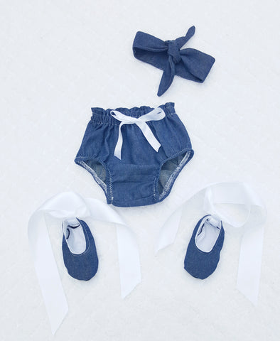 High Waist Bloomer set