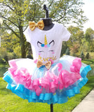 Princess Unicorn Ribbon tutu set