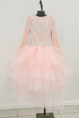 Sequin Glam Tulle Dress
