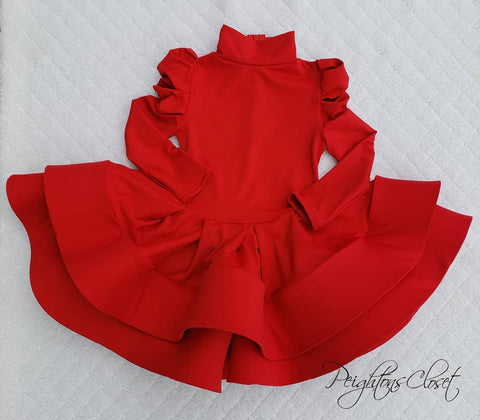 Little Red Holiday dress