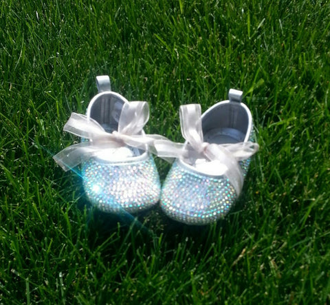 Baby ballet bling shoes