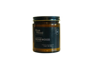 Rosewood 8 oz. Travel Candle
