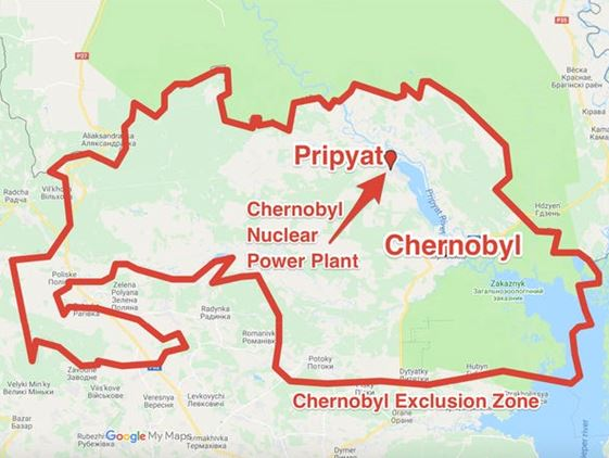 Chernobyl Exclusion Zone Now an Animal Refuge