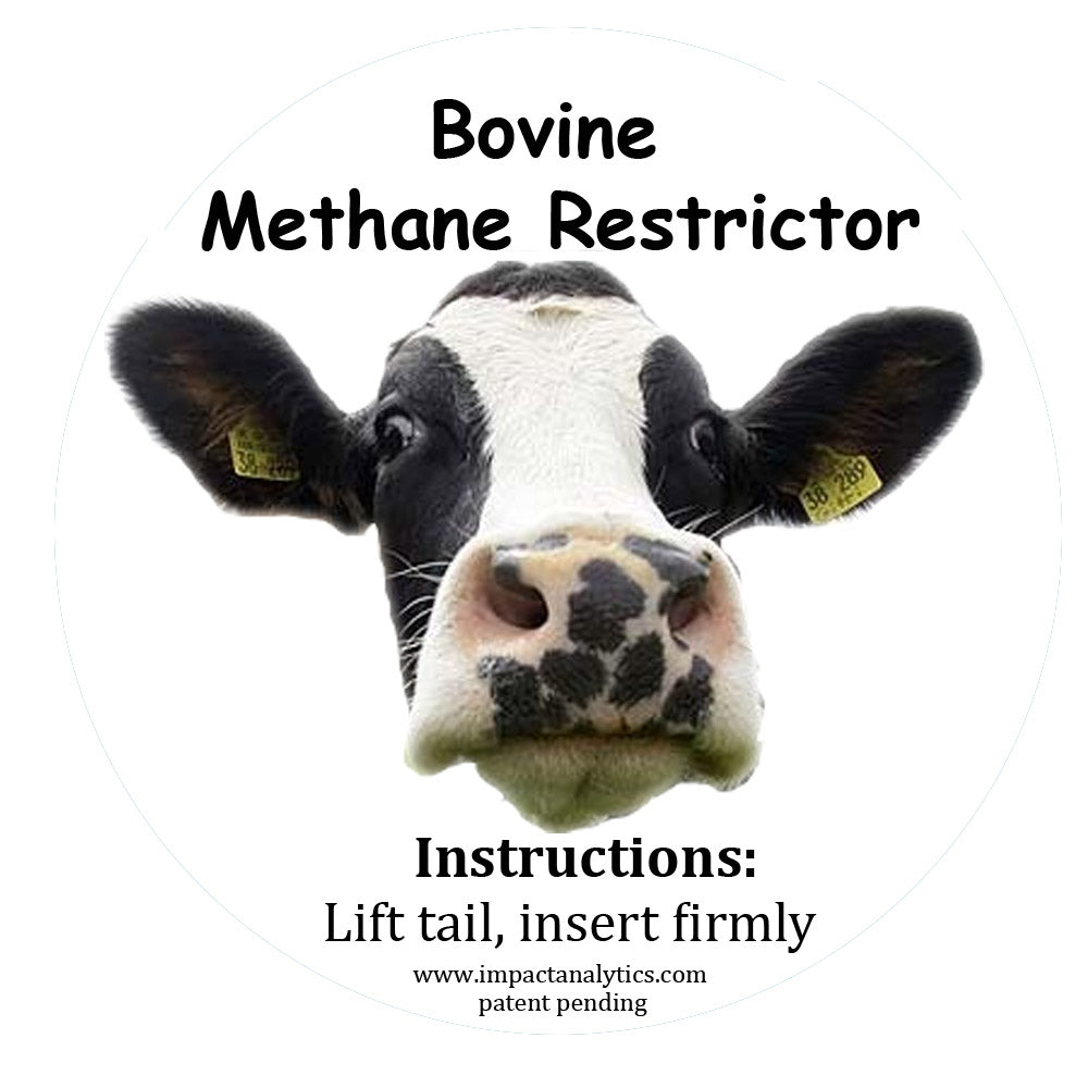 Load image into Gallery viewer, Prevent Climate Change - Bovine Methane Restrictor