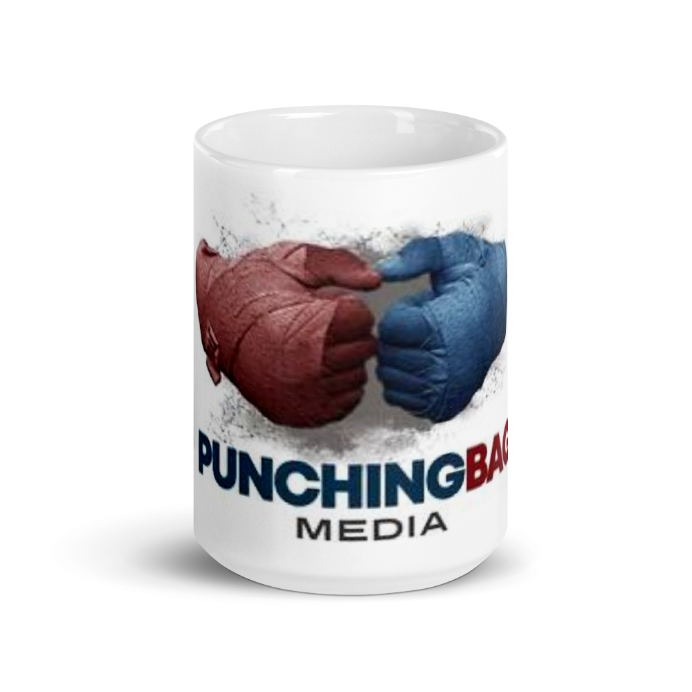 Load image into Gallery viewer, Official Punching Bag Media Coffee Mug