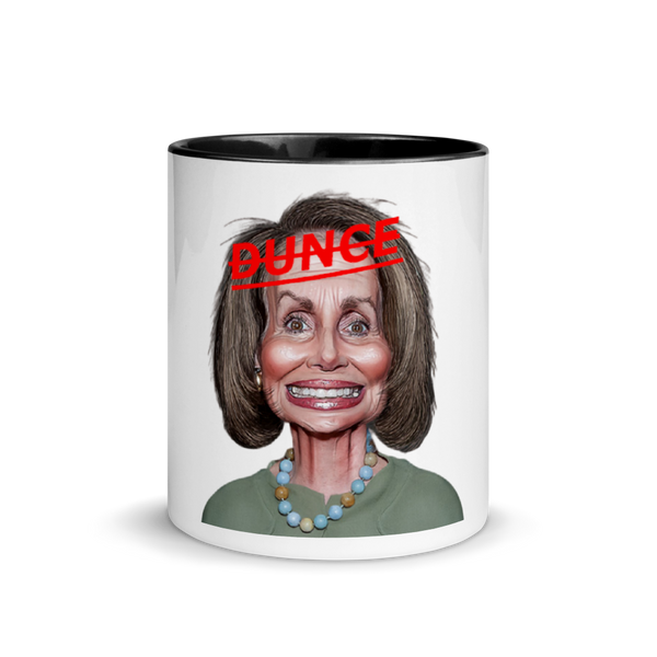 Nancy Pelosi Dunce Mug
