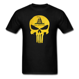 Don't Trend On Me Skull T-Shirt - black