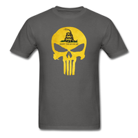 Don't Trend On Me Skull T-Shirt - charcoal