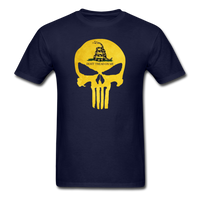 Don't Trend On Me Skull T-Shirt - navy