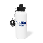 Trump 2020 Water Bottle - white