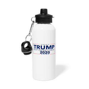 Load image into Gallery viewer, Trump 2020 Water Bottle - white
