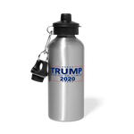 Trump 2020 Water Bottle - silver