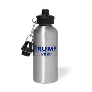 Load image into Gallery viewer, Trump 2020 Water Bottle - silver