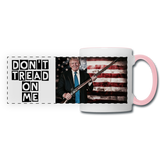 Trump Gun Rights Mug - white/pink