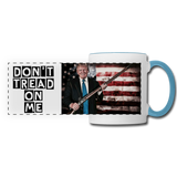 Trump Gun Rights Mug - white/light blue