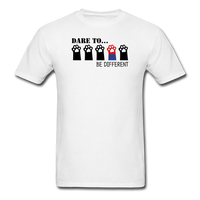 Be Different T-Shirt - white