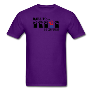 Be Different T-Shirt - purple